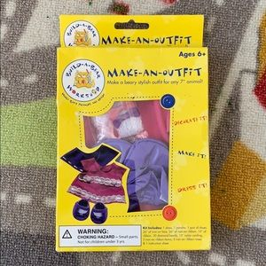 Build A Bear Outfit + Shoes Set Craft Kit 2008